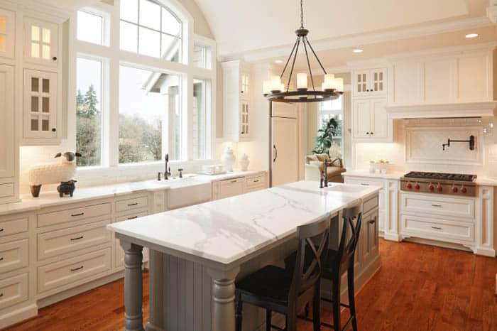 calacata kitchen countertop