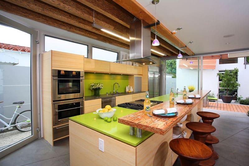 kitchen custom countertop install