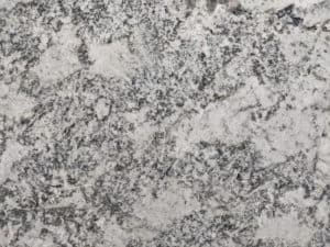 Alaska white leather Custom Granite